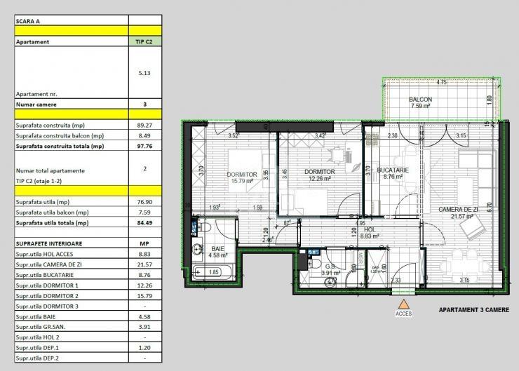 PANDURI RESIDENCE - Apartamente Noi de Vanzare in Zona13 Septembrie - Panduri