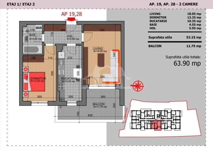 Apartamente Noi de Vanzare Zona Vitan - Mihai Bravu Residence 14